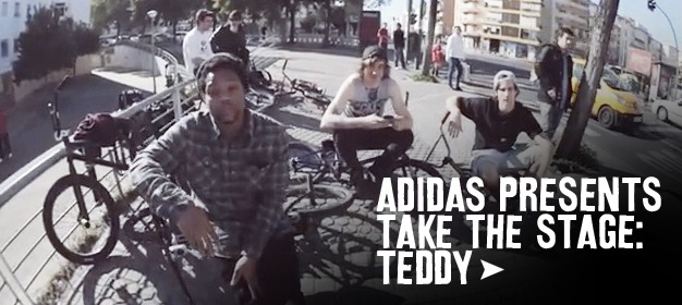 adidas presents Take The Stage - Teddy