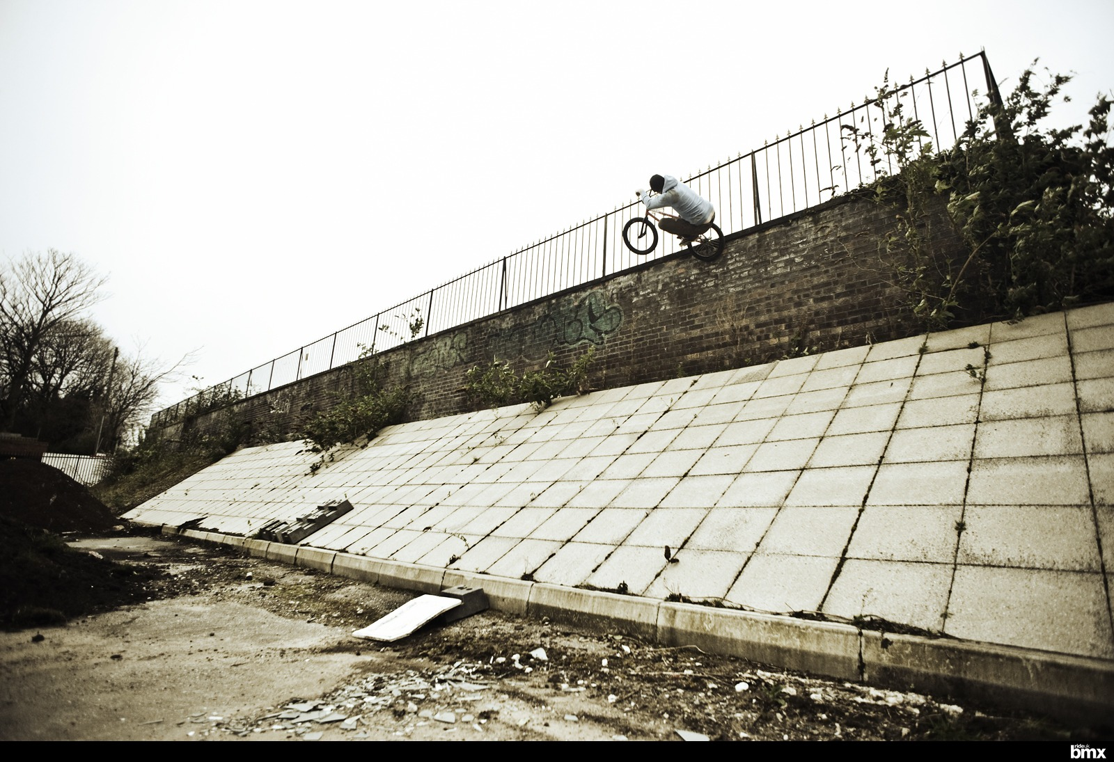 Way-up there icepick on the backstreets of Liverpool.