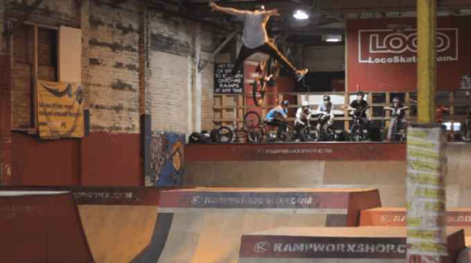 Anthony Watkinson back at Rampworx