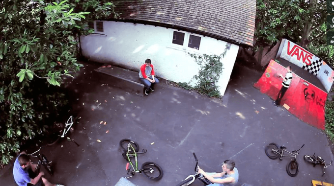 Premier BMX Store - Lil Jake's Backyard Ramps