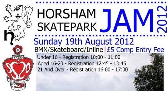 Horsham Skatepark Jam