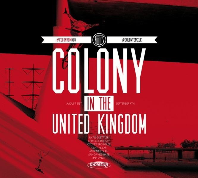 Colony UK Tour