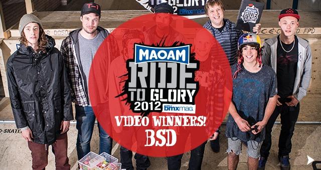 Ride To Glory Video Winners!
