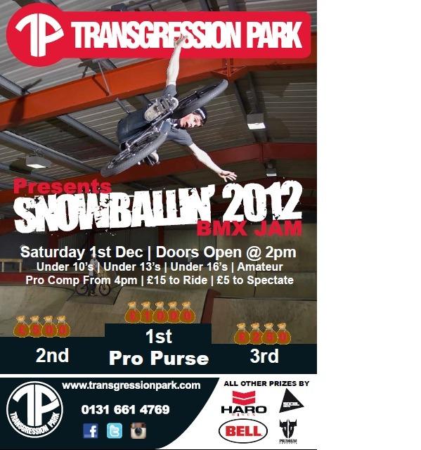 Transgression Park Snowballin Jam