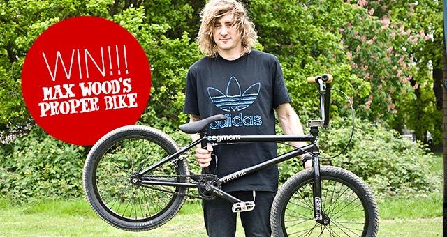 WIN Max Wood's Proper Bike!
