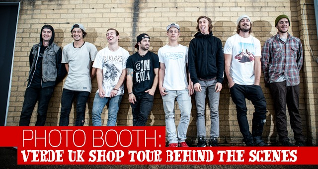 Photo Booth: Verde UK Shop Tour Incidentals