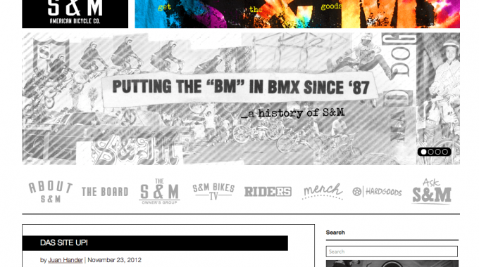 New S&M Site!