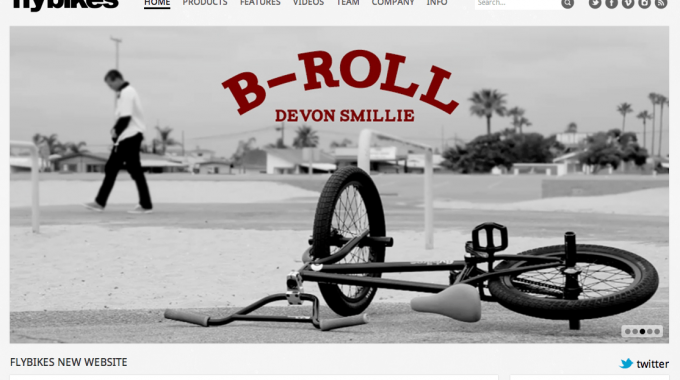 New Fly Bikes Site