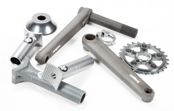 United - Grey Parts
