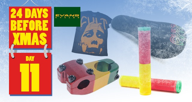 24 Days of XMAS: Day 11 - Evans Cult Package.