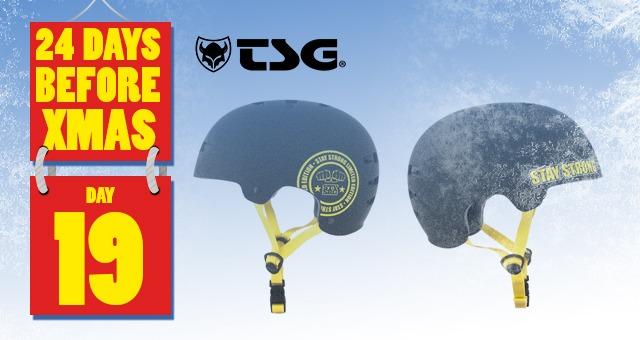 24 Days of XMAS: Day 19 - TSG Helmet