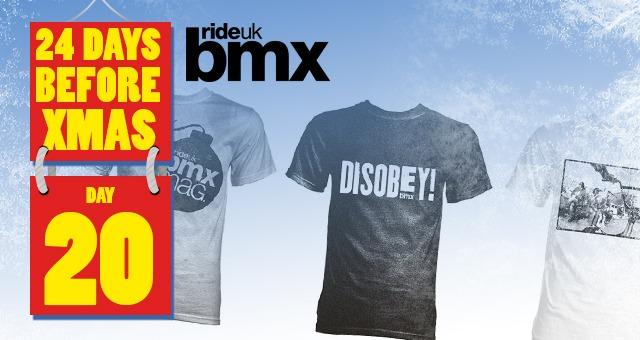 24 Days of XMAS: Day 20 - Ride UK T-shirt