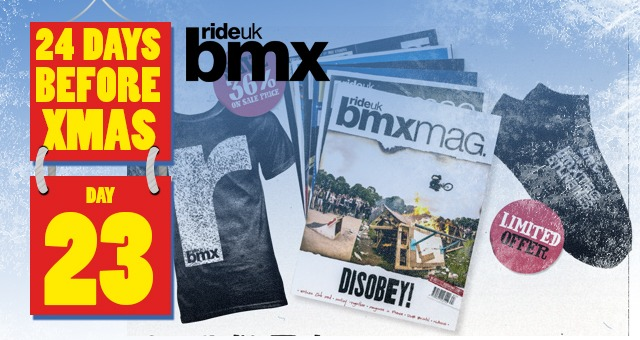 24 Days of XMAS: Day 23 - Ride UK Subscription