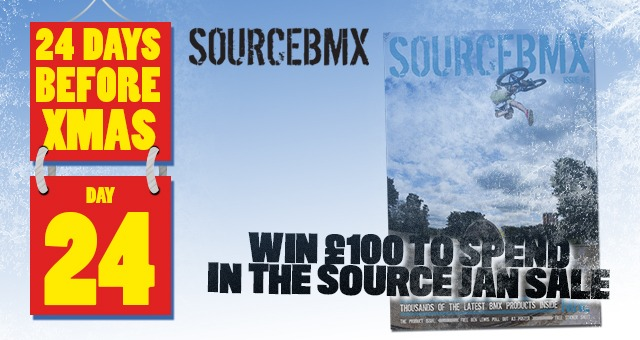 24 Days of XMAS: Day 24 - £100 to spend in the Source...