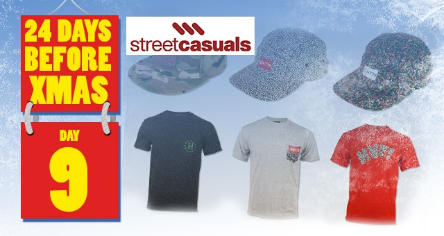 24 Days of XMAS: Day 9 - Street Casuals