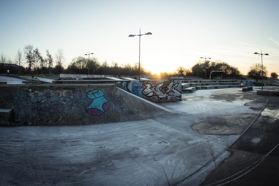 Frosty Stoke Plaza.