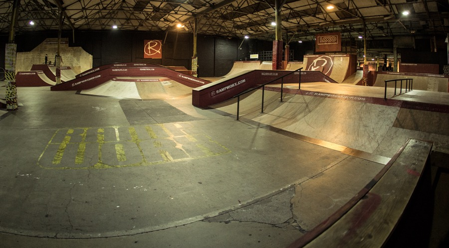 Session went down on this setup at Rampworx.