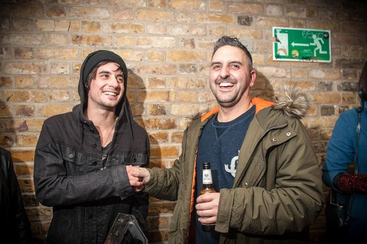 Matt Priest and Gunner.