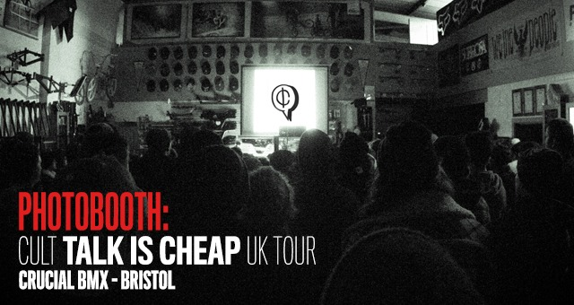 Photobooth: CULT Talk is Cheap UK Premiere - Bristol