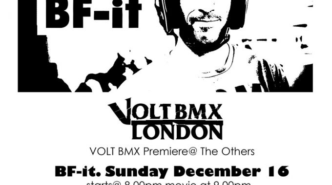 BF-IT PREMIERE IN LONDON SUNDAY 16TH DEC