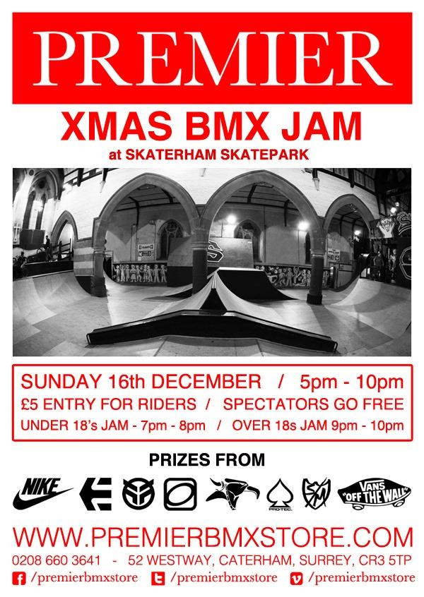 Premier BMX Xmas BMX Jam