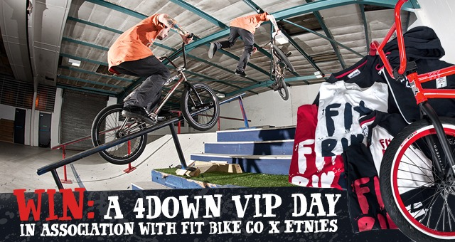 For The Win: Win a 4Down VIP Day with Fit Bike Co and Etnies.