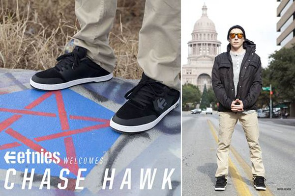 Chase Hawk on etnies