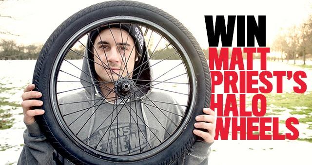 For The Win: Matt Priest Halo Wheels