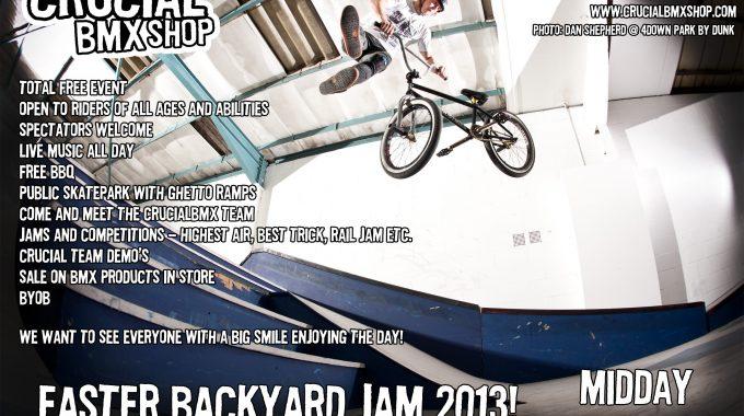 Crucial BMX Easter Jam