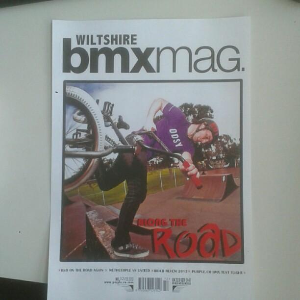 My gcse media work hopeing to go int to mag designing. (@purplelouisbeatty)