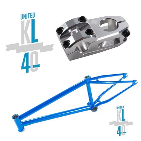 New United KL40 Frame and Stem