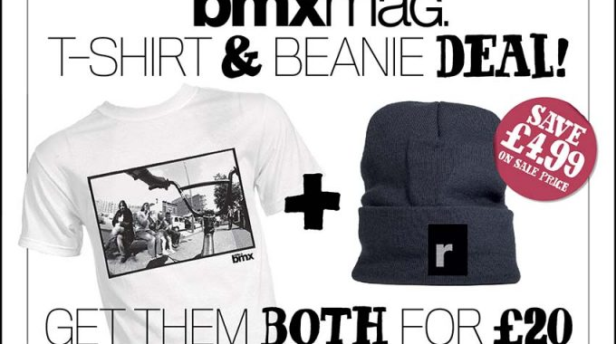 RideUKBMX T-Shirt & Beanie Deal