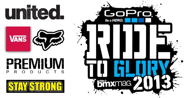 NEWS FLASH: Ride To Glory 13 TEAM LISTS