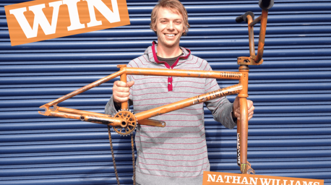 Win Nathan Williams set up from Ride To Glory.