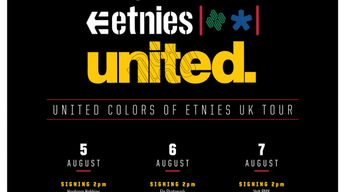 United Colors of Etnies UK Tour