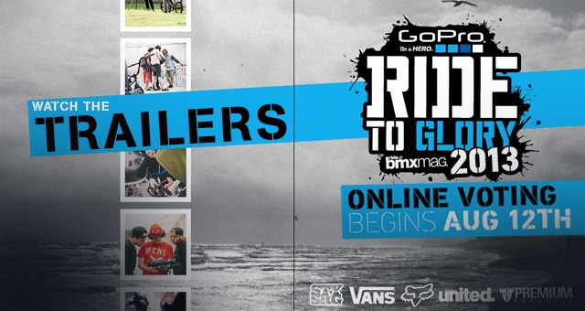 Ride To Glory 2013 - TEAM TRAILERS
