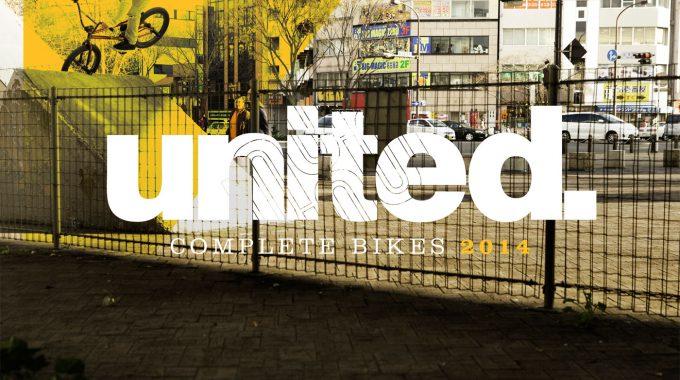 UNITED 2014 COMPLETE BIKES CATALOGUE