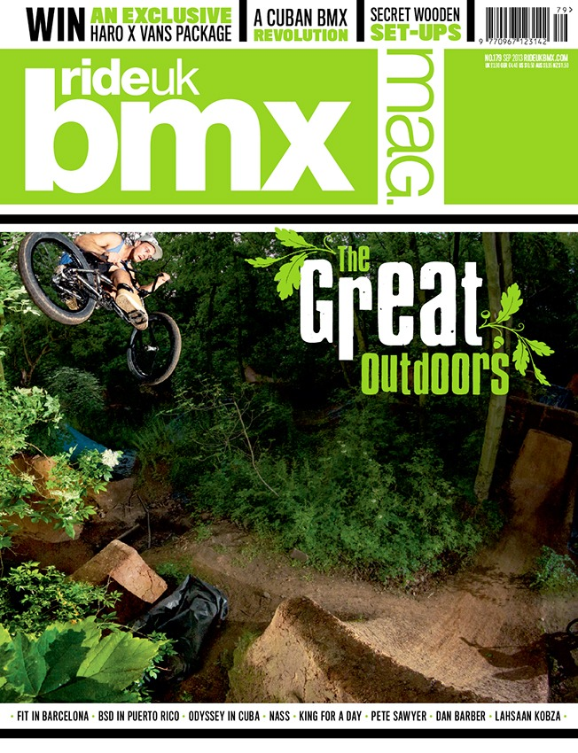 Ride UK BMX Mag - Issue 179 OUT NOW!