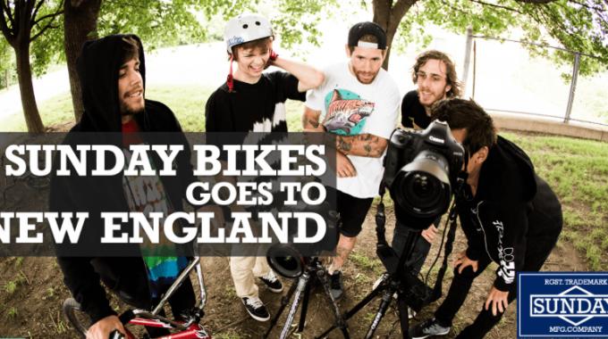 Sunday Bikes Goes To New England