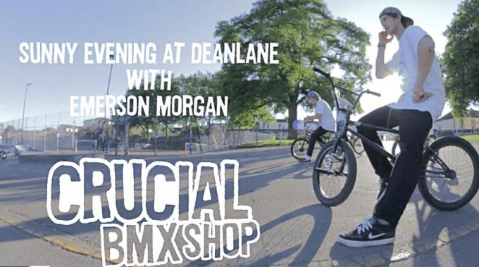CrucialBMX Emerson Morgan at Deanlane Skatepark