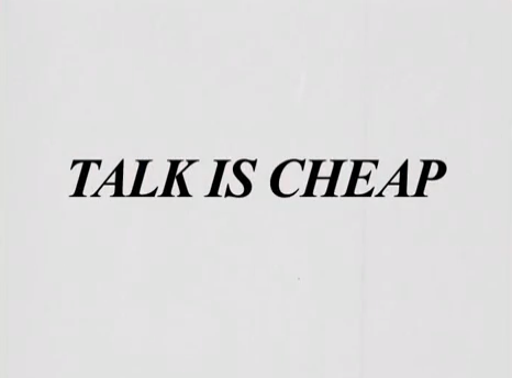 Cult - Talk Is Cheap Full Edit