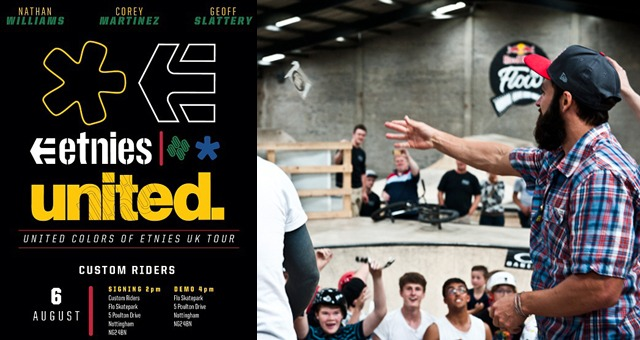 UNITED COLORS OF ETNIES UK TOUR - DAY 2
