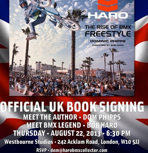Haro The Rise Of BMX Freestyle Book Launch