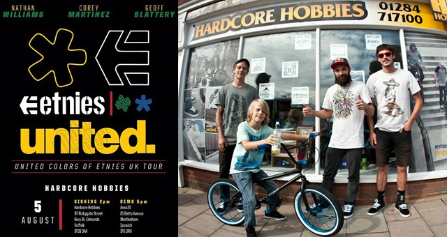 UNITED COLORS OF ETNIES UK TOUR - DAY 1