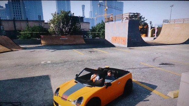 SPOTTED: GTA5 RIDING LOCATIONS | Ride UK BMX