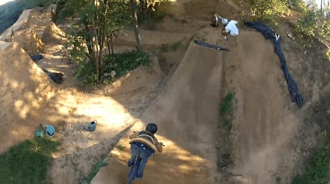 Vans Trails Mission 2013 - GoPro Crash