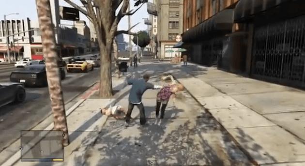 GTA 5 - Greatest knockouts