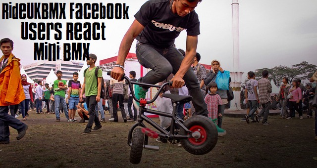 RideUKBMX Facebook Users React - Mini BMX
