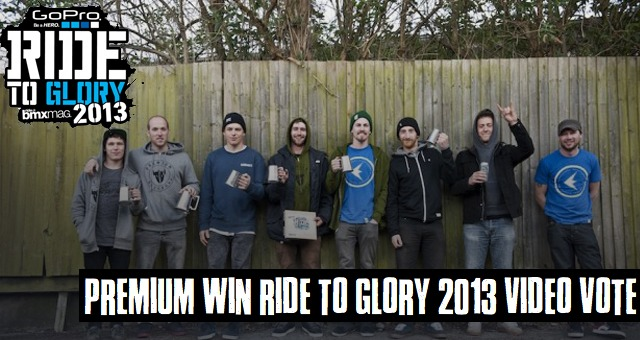 PREMIUM WIN RIDE TO GLORY 2013 VIDEO VOTE