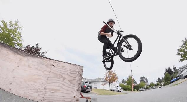 12 Year Old BMX Rider, Lochlainn O'Leary